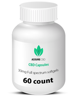 CBD capsules 30mg full spectrum assure