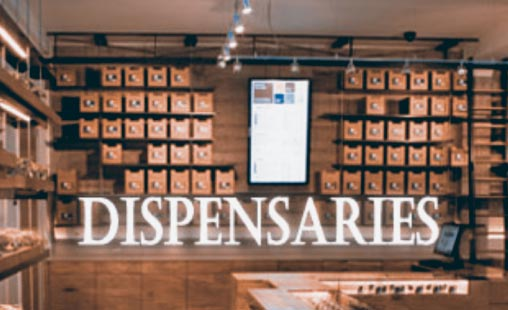 Local dispensaries for online stores