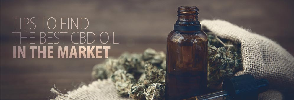 Tips to Find the Best CBD Oil in the Market?